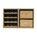 Showcase Wooden Wine Bottle Display - 48 Bottles
