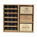 Showcase Wooden Wine Bottle Display - 72 Bottles